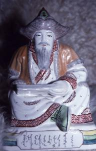 Statuette assise de Chinggis Khan